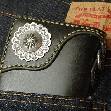 390b6d402c0d Hand Sewn Long Wallet. All Hand Made by The Flathead